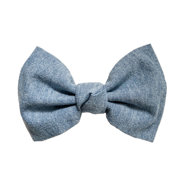 Chambray Ballet Bow