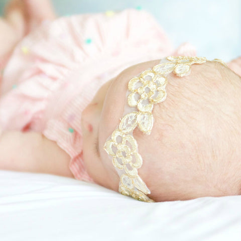 Isabel Lace Headband