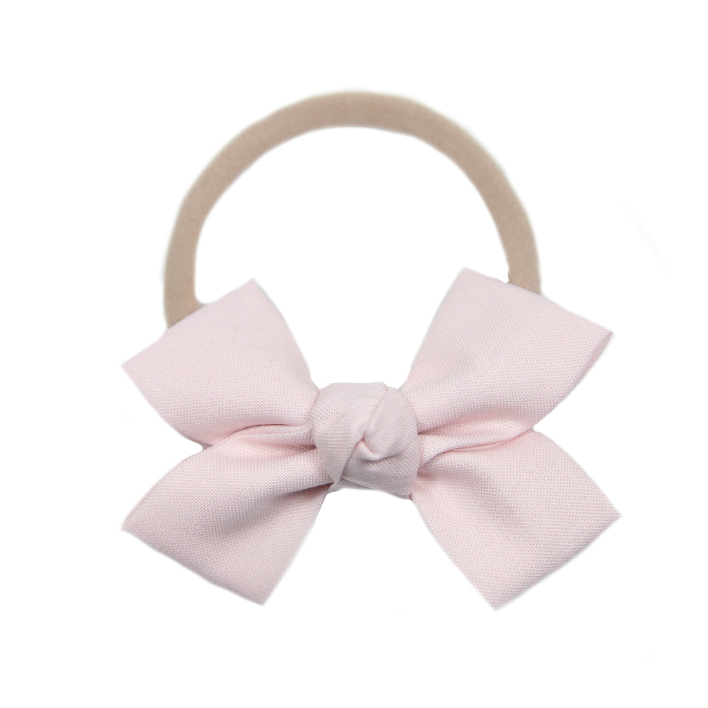 Plié Pink Loop Bow Headband