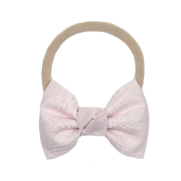 Signature Plié Pink Bow Headband