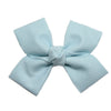 Large Powder Blue Loop Bow Clip