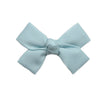Small Powder Blue Loop Bow Clip