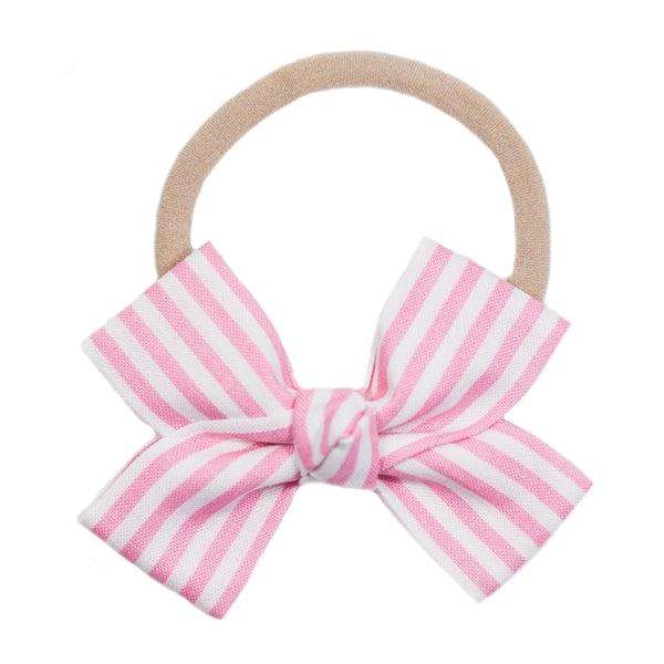 Stripe Loop Bow Headband