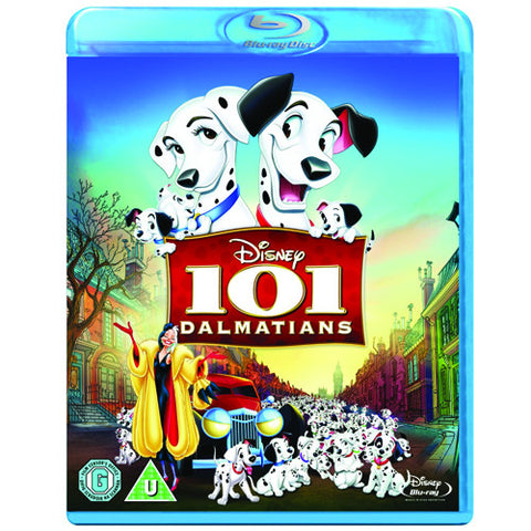 101 DALMATIANS [Blu-ray Disc] Classic Disney Animated Movie in High-Definition