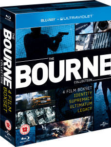 The Ultimate Bourne Collection 1 - 4 [Blu-ray]