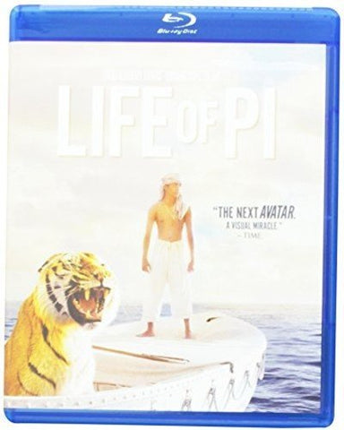 Life of Pi Blu-ray