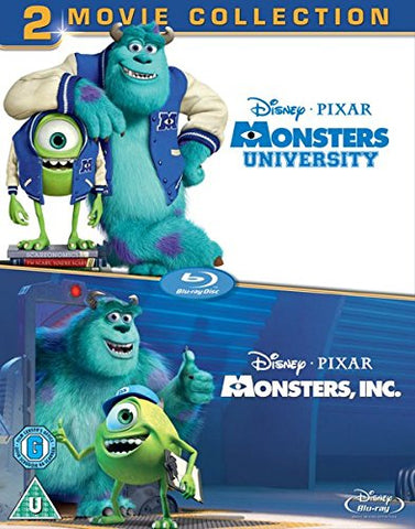 Monsters University/Monsters Inc [Region Free] [UK Import] [Blu-ray]