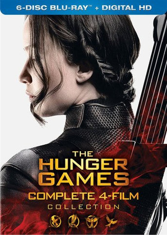 The Hunger Games: Complete 4 Film Collection Blu-ray
