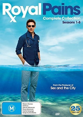 Royal Pains: Complete Collection Seasons 1-8 DVD USA