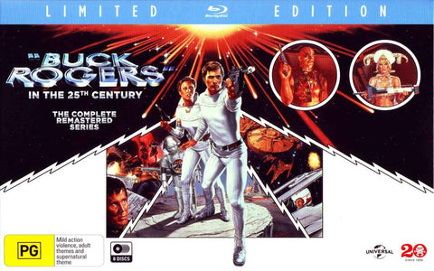 Buck Rogers in the 25th Century: The Complete Remastered Series [Blu-ray]