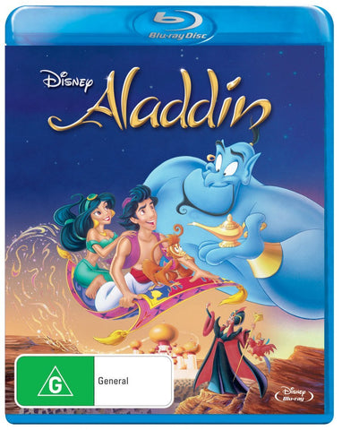 Disney Aladdin Blu-ray