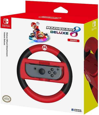HORI Nintendo Switch Mario Kart 8 Deluxe Wheel (Mario Version) Officially Licensed By Nintendo - Nintendo Switch