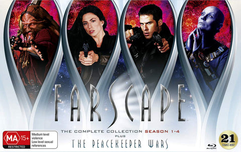 Farscape: The Complete Collection: Season 1-4 [Blu-ray]