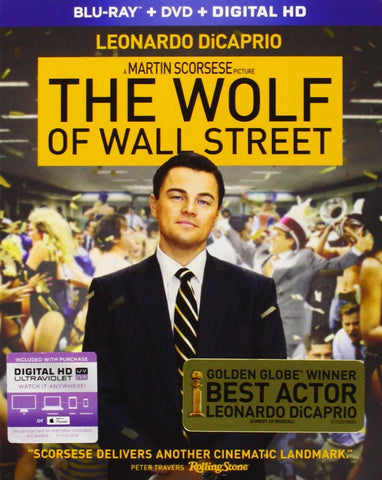 Wolf of Wall Street Blu-ray
