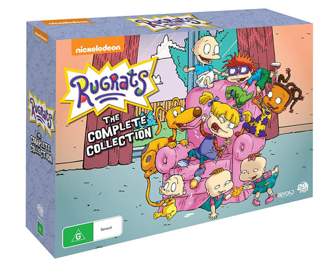 Rugrats - The Complete Series Seasons 1-9 Collection Box Set DVD Limited Edition