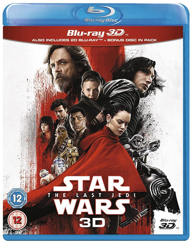 Star Wars: The Last Jedi [Blu-ray 3D] [2017]