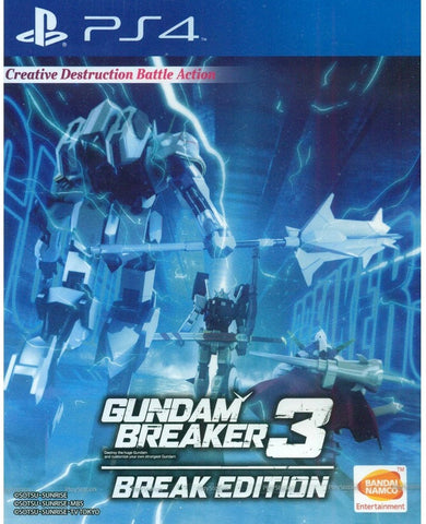 Gundam Breaker 3 Break Edition (English Subtitle) for Playstation 4