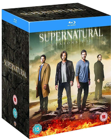 Supernatural - Seasons 1 - 12 Blu-ray