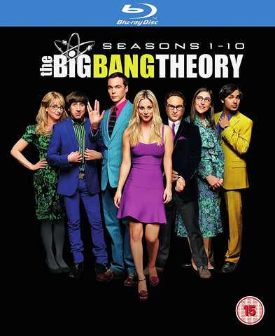 The Big Bang Theory Blu Ray Seasons 1 - 10 Box Set Season 1 2 3 4 5 6 7 8 9 10 Collection