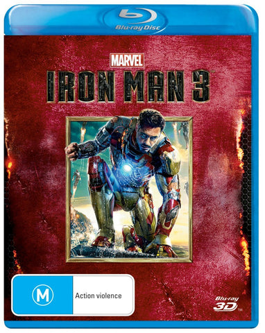 Disney Marvel Iron Man 3 (3D Blu-ray) Blu-ray