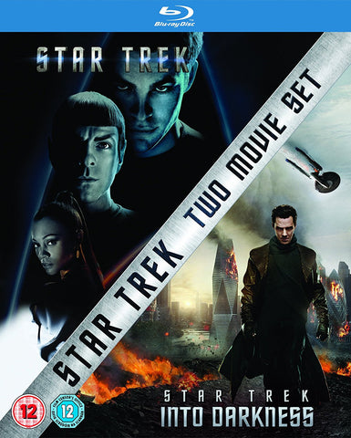 Star Trek AND Star Trek Into Darkness Double Pack 2 Movie Box Set