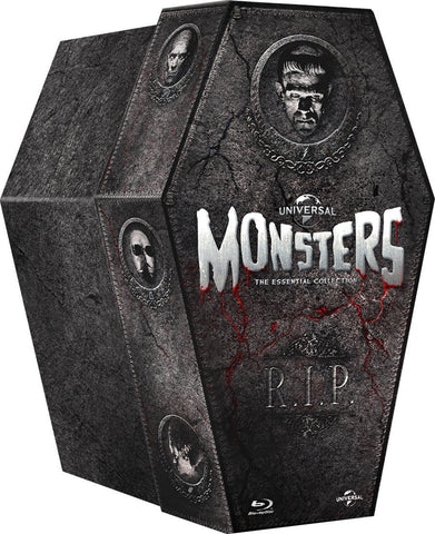 Universal Classic Monsters: The Essential Coffin Collection [Blu-Ray]
