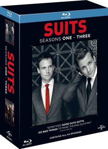 Suits Season 1-3 Box Set - Blu-Ray - Seasons 1 2 3 Collection