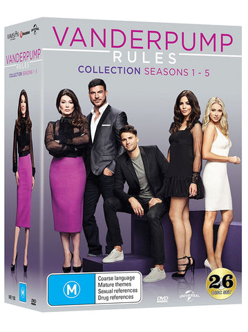 Vanderpump Rules Season 1 - 5 (Box Set DVD) Series 1 2 3 4 5 Collection