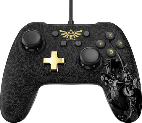 Wired Controller Plus - Zelda: Breath of the Wild - Nintendo Switch, Black
