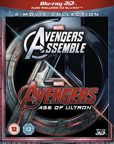 Avengers Age Of Ultron/Avengers Assemble Doublepack [Blu-ray 3D]