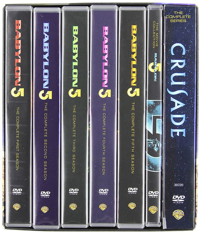 Babylon 5: The Complete Collection Series - Bonus 5 Movie Set and Crusade Collection