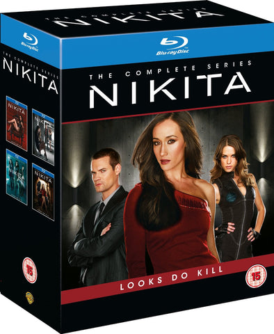 Nikita: The Complete Series [Blu-ray] Season 1 2 3 & 4