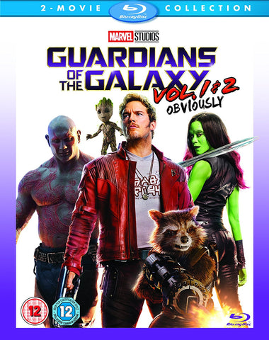 Guardians of the Galaxy Vol 1 & 2 (2 Film Collection) Blu-ray