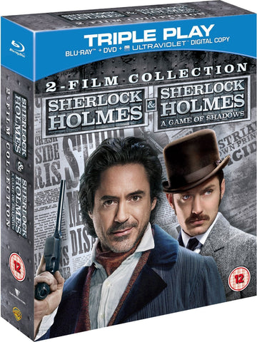 The Sherlock Holmes Movie Collection [Blu-ray] [Blu-ray]