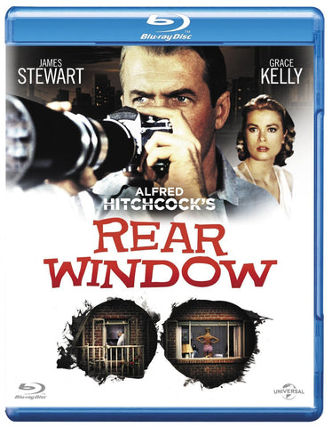 Rear Window [Blu-ray] Grace Kelly; James Stewart; Alfred Hitchcock
