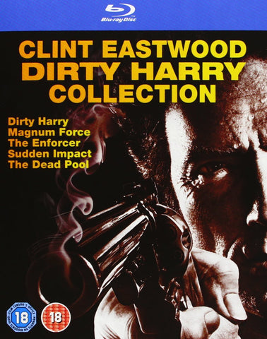 Dirty Harry Collection Box [Blu-ray] [Blu-ray] (2013) Clint Eastwood
