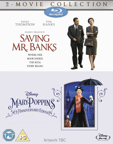 Saving Mr Banks & Mary Poppins [Blu-Ray][Region Free] [Blu-ray] (2014)