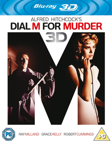 Dial M for Murder (Blu-ray 3D + Blu-ray) [1954]