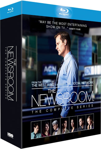The Newsroom - Complete Series, Seasons 1-3 [Blu-ray]
