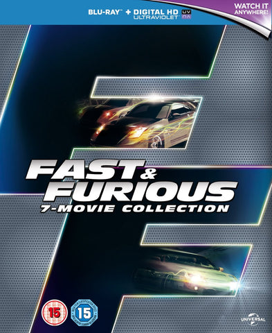 Fast & Furious Collection 1 - 7-Disc Box Set [Blu-Ray]