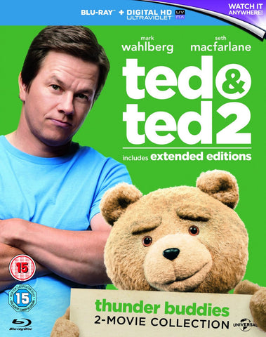 Ted / Ted 2 [Blu-Ray] Box Set Collection (Extended Editions)
