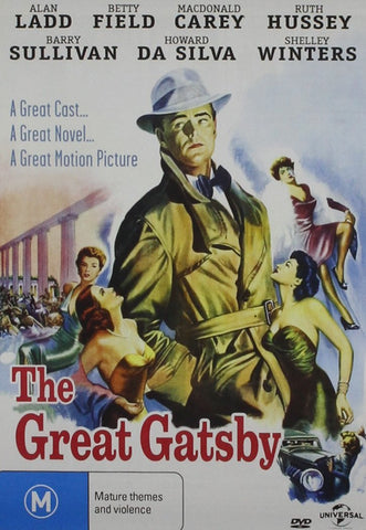 Great Gatsby 1949 DVD