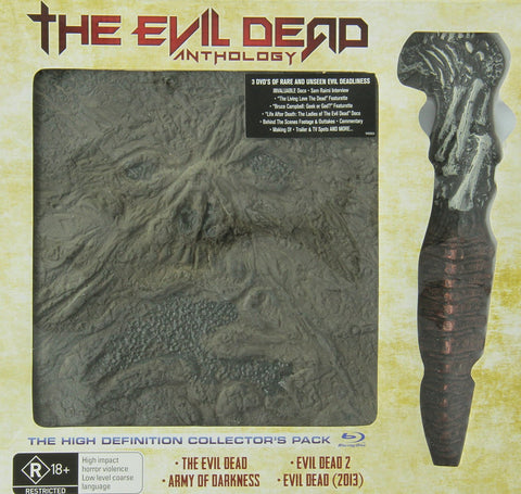 Evil Dead Anthology [Blu-ray] Limited Edition w/ Replica Prop Dagger from EVIL DEAD