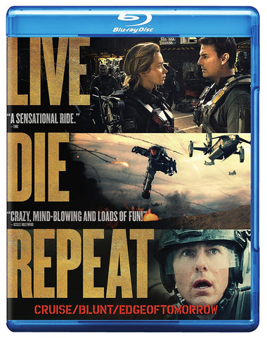 Live Die Repeat: Edge of Tomorrow Blu-ray