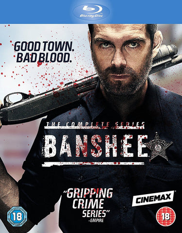 Banshee - Season 1-4 Complete Series Box Set [Blu-ray]