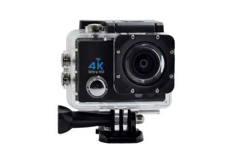4K Action Camera Pro Kit | Helmet Cam Plus 16GB SD Card