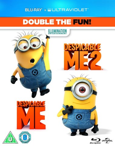 Despicable Me / Despicable Me 2 Double Pack [Blu-ray]