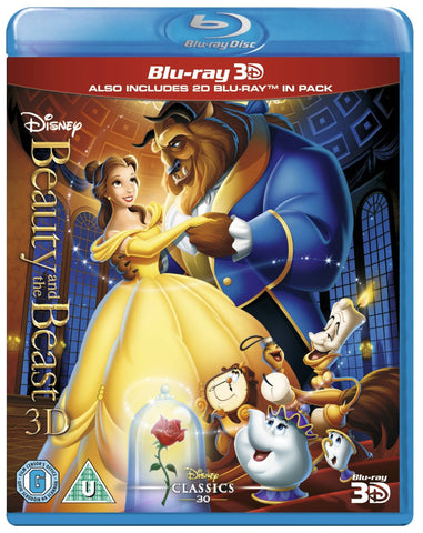 Beauty & the Beast [Blu-ray 3D and Bluray]