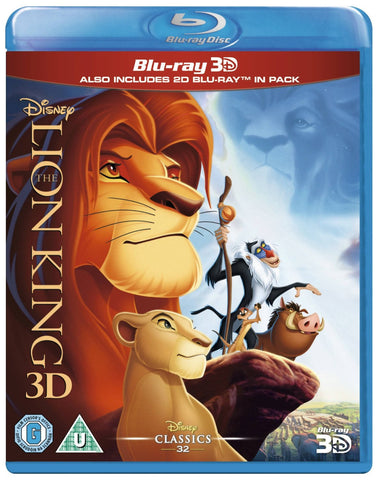 The Lion King 3D [Blu-ray + 3D]