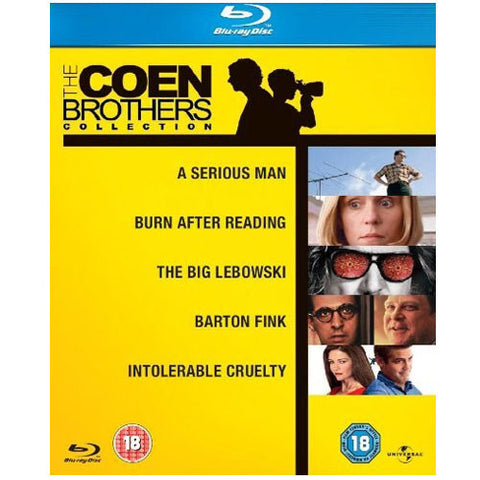 The Coen Brothers Blu-ray Collection Box Set (5 Discs) [Blu-ray]